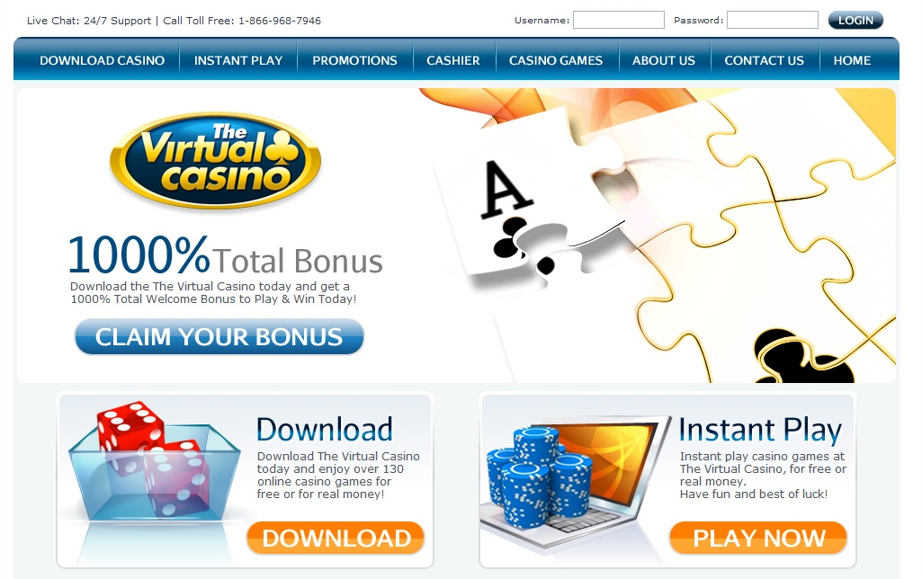 Island online virtual casino